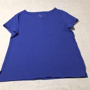 Talbots Womens Short-Sleeved Tee Shirt